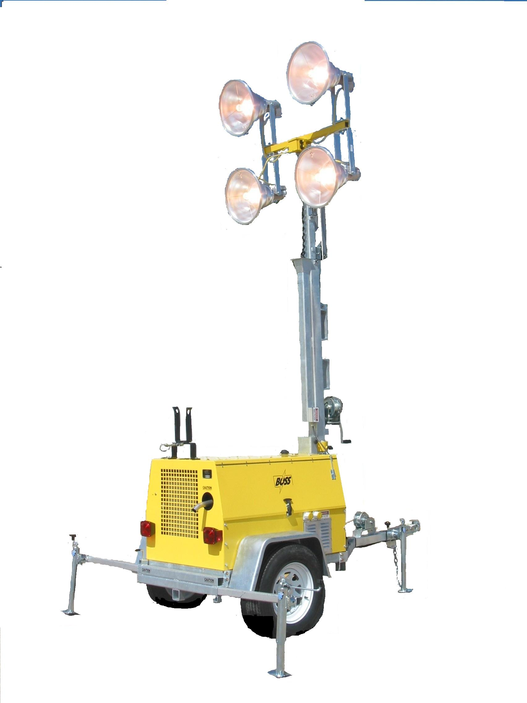 Rent Portable Refinery and Industrial Lighting Turn a Rounds