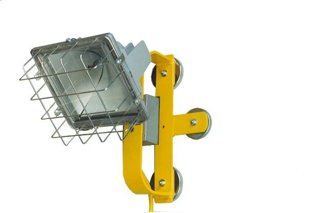 Magnetic Light 100 watt LED floodlight 120 volts.  ML100LED-120V: 100w LED Magnetic Mount