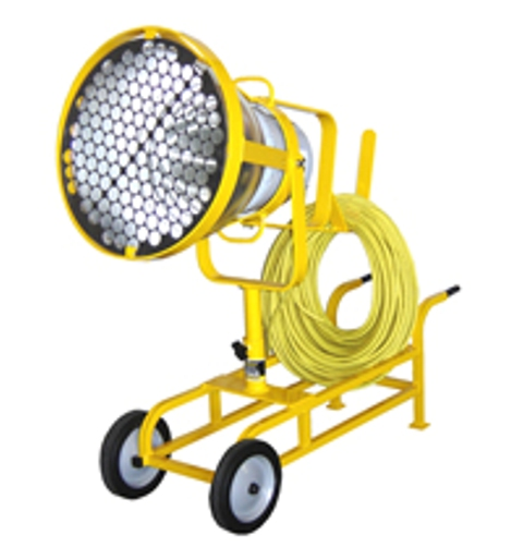 RNT: EXF-PS400MH-C-24″-120V: 400w Metal Halide Explosion Proof Rated Floodlight, Division 1 Applications, Cart Mounted.