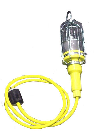LED Vapor Proof rated Handlamp 50′ Power cord 12 volt.RNT: VHL-E30V-LED-12V: 9.5W LED Vapor Proof-NEMA 4x Hand Lamp