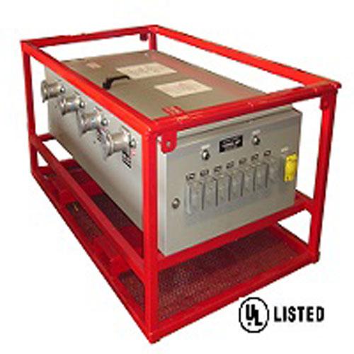 PORTABLE WELDING MACHINE POWER PANELS 480V.  Model# WP400/8C/480-120V