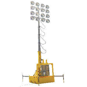 100 Foot Portable Stadium Light Tower Sports Special Events