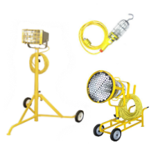 LED Explosion Proof and Water Proof Portable Lighting - UL844 - OSHA Compliant