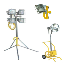 Portable Task Floodlighting