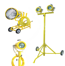Explosion Proof | UL844-P4 Portable Floodlighting