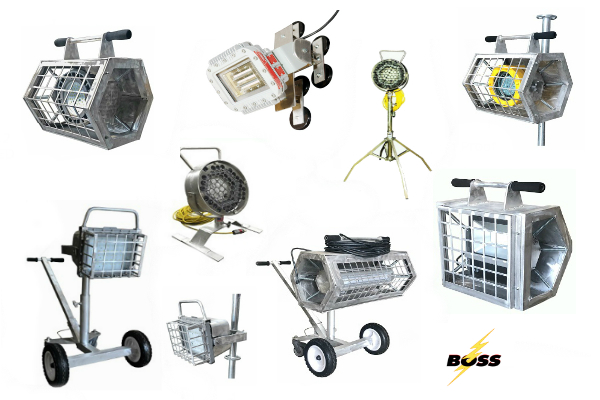 Boss LTR Releases New Scaffolding LED Floodlighting Products for Tank and Vessel Applications