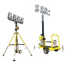 Sporting Event Portable Lighting