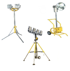 Portable Floodlighting Confined Space Lighting