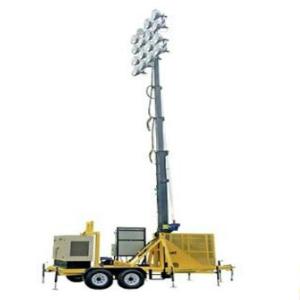 100 Foot Portable Stadium High Mast Light Tower 16 1500w